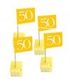 50 gouden cocktailprikkers 50 jaar