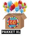 60 jaar feest versiering voordeelbox XL