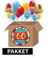 60 jaar feest versiering voordeelbox