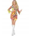 Verkleedkleding Hippie jurkje