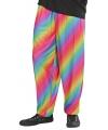 Jaren 90 regenboog broek voor heren