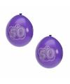 Hoera 50 jaar ballonnen