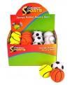 Basketbal vorm stuiterbal