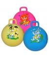Speelgoed skippybal blauw met konijn