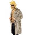 Carnavalskleding bont mantel bruin