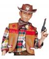 Bruin cowboy giletje voor kids