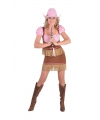 Dames cowgirl verkleedpak