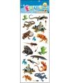 Dieren reptielen stickervelletje