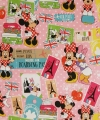 Disney cadeaupapier Minnie travelling