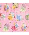 Disney cadeaupapier Prinsessen in jurk
