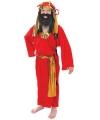 Kinder kerst kostuum rood Drie Koningen