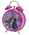 Disney Frozen wekker roze