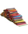 Assorti kleuren knutselhoutjes1000 stuks