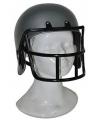 Rugby helm voor kinderen grijs