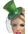 Saint Patricks day groen hoedje