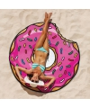 Cartoon donut handdoek 150 cm