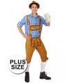 Big Size bierfeest broek Markus lichtbruin
