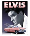 Nostalgisch bord Elvis Cadillac