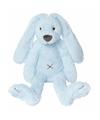 Pluche Happy Horse konijn blauw 28 cm
