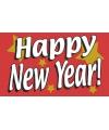 Jaarwisselings vlag Happy new year!