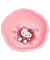 Roze Hello Kitty schaaltjes van plastic 16 cm