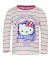 Hello Kitty t-shirt wit met roze