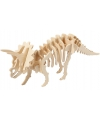 Triplex puzzel 3D Triceratops met app