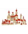 Houten bouwblokken kasteel voor kinderen 150-delig