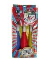 Clown speelgoed jongleer kegels