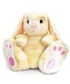 Pluche knuffeldier konijn beige 25 cm