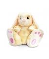 Keel Toys pluche konijn knuffel beige 50 cm