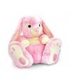 Keel Toys pluche konijn knuffel roze 50 cm