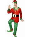 Kerstelf pak voor volwassenen