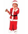 Kinder kerstman outfit