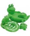 Groene kikker zeephouder set