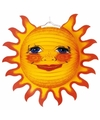 Lampionnen versiering van een zon