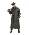 Zwarte lange western jas