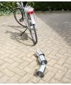 Luilak blikjes voor achter de fiets