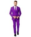 Business suit paars voor heren
