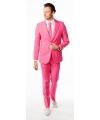 Business suit roze voor heren