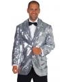 Luxe zilveren colberts heren