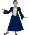 Carnaval middeleeuwse prinses kostuum