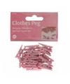 Kleine roze knijpertjes