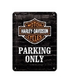 Metalen poster voor aan de muur Harley Davidson