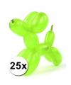 Neon modelleerballonnen 25 stuks