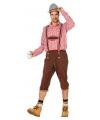 Oktoberfest lederhose heren bruin