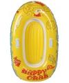 Happy crab roeiboot geel