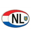 Nederland NL sticker 17 x 12 cm