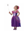 Sprookjes prinses kostuum paars voor meisjes