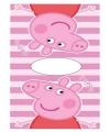 Peppa Pig poncho van badstof